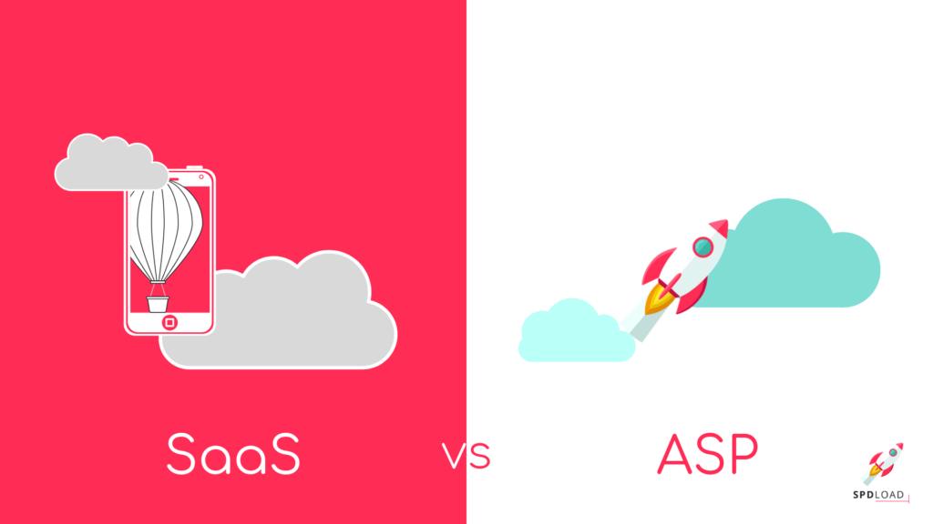 Asp model vs SaaS model