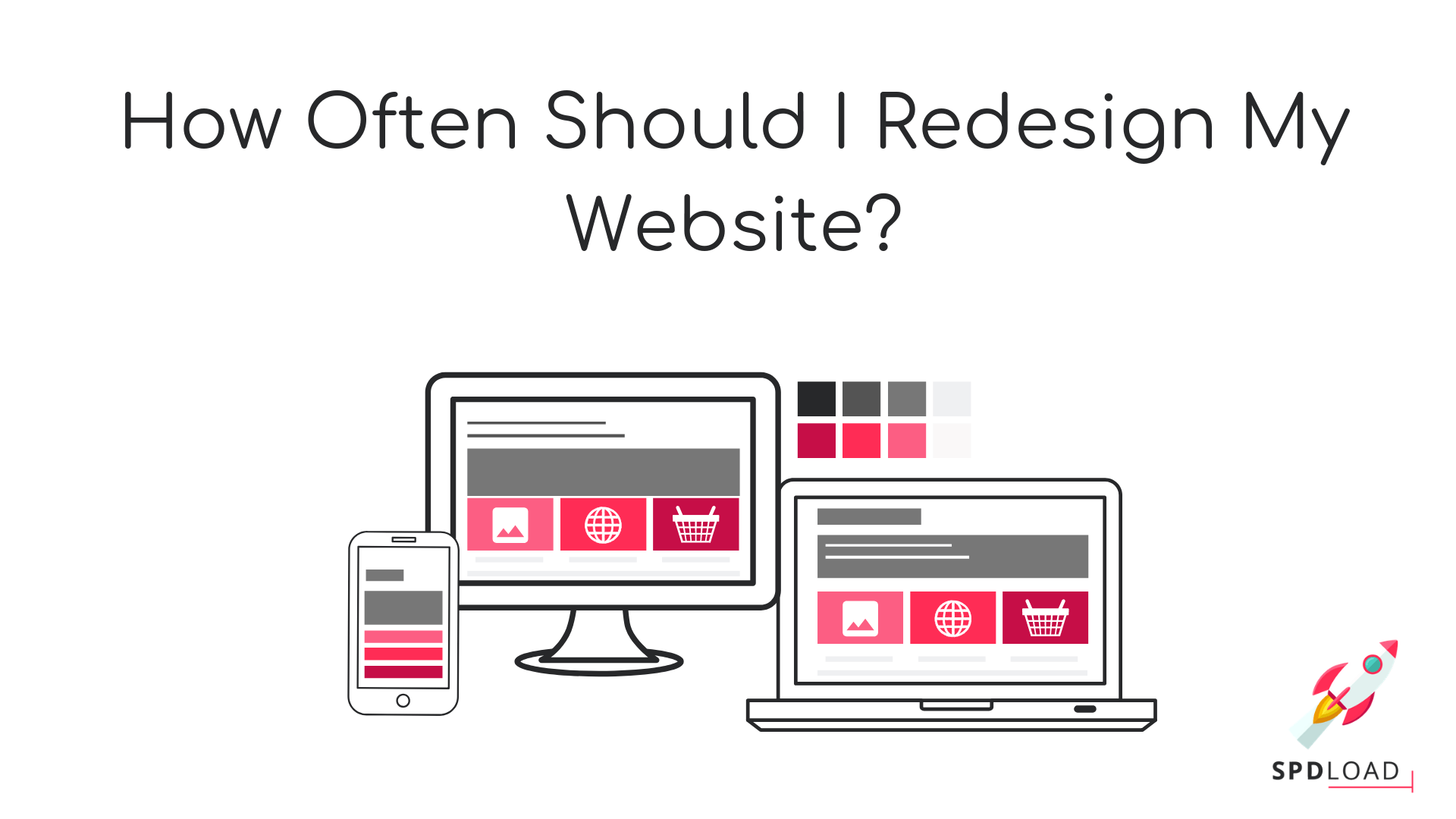 How often should i have to redesign the website