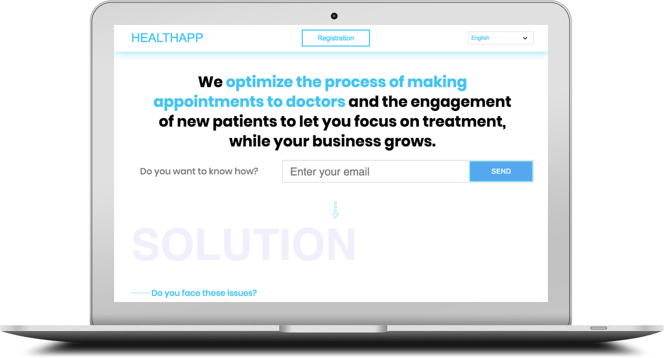 SaaS for HealthCare Startup
