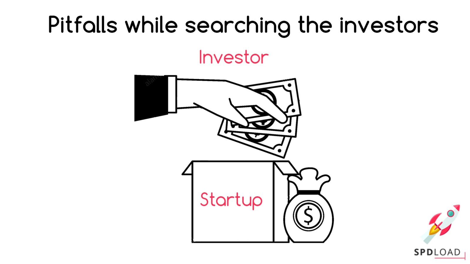 While searching for investor