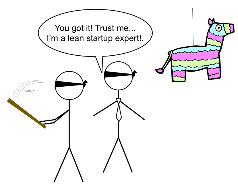 meme false expert helps somebody to reach the goal