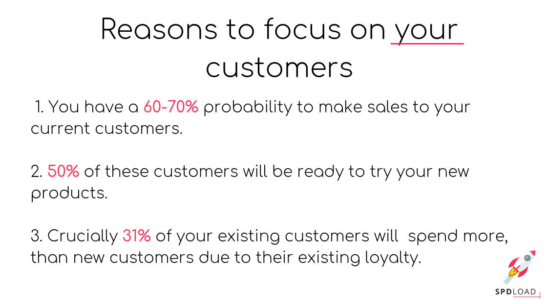 Reasons to focus on your customers