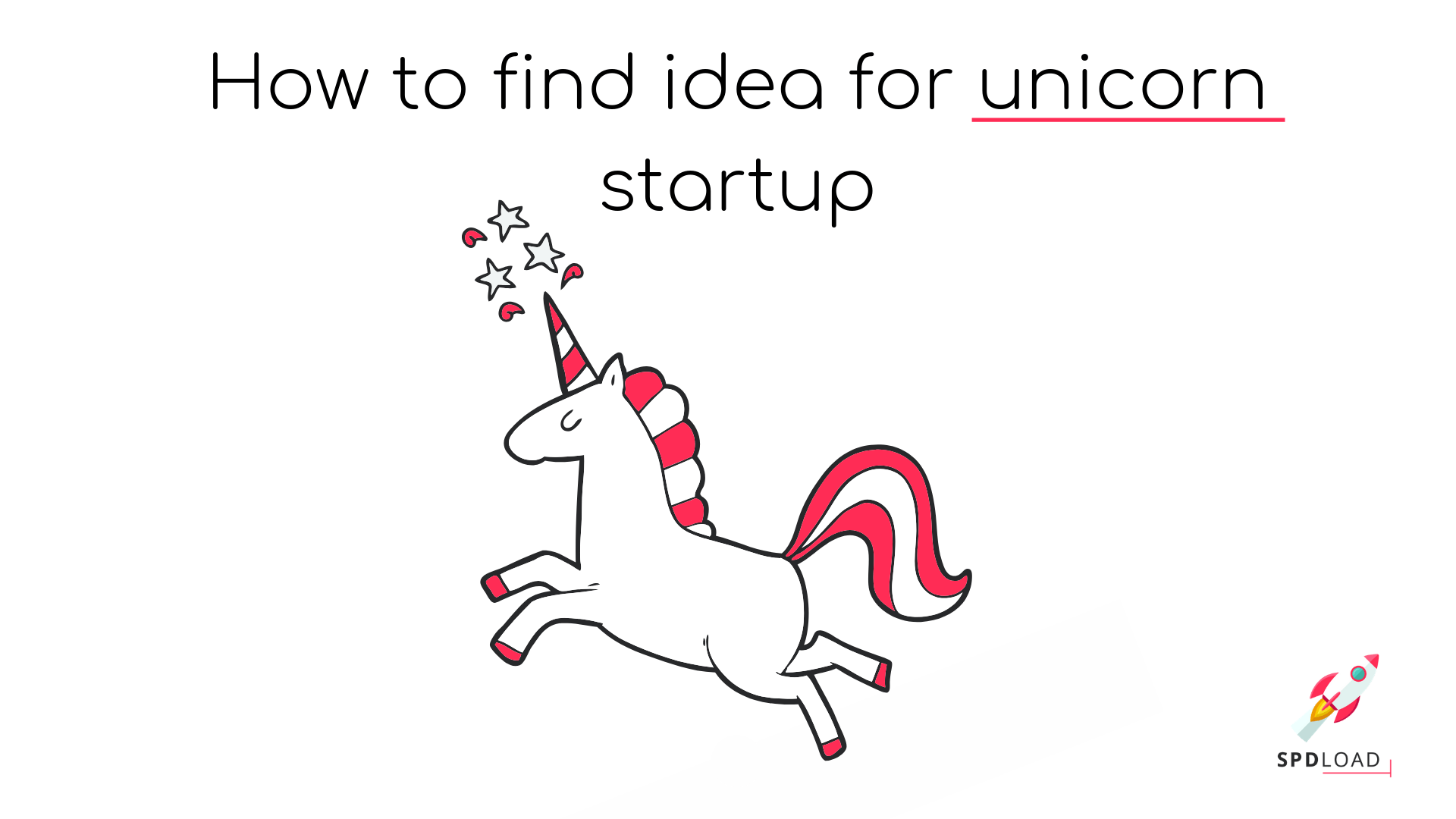 """title of our article """"How to find idea for unicorn startup"""""""