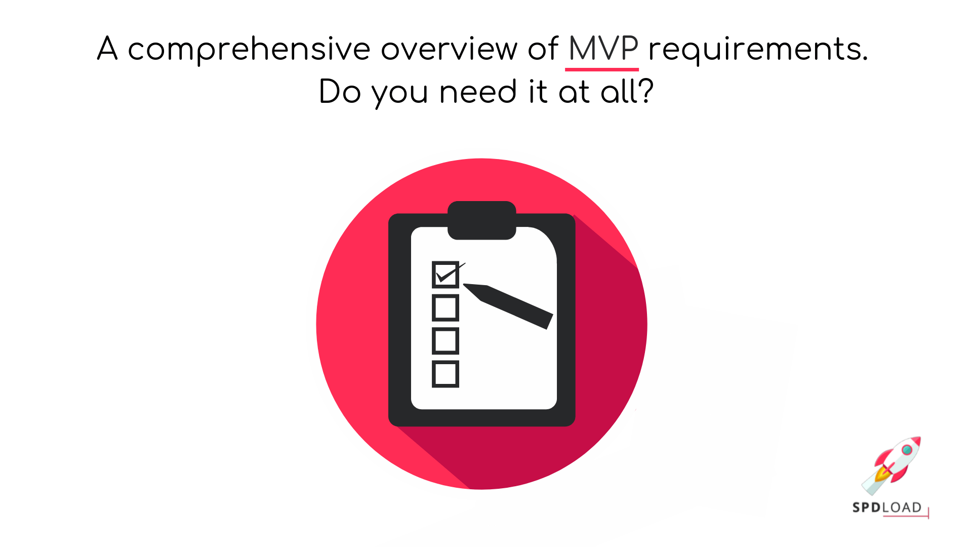 "cover photo ""A comprehensive overview of MVP requirements. Do you need it at all?"""