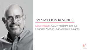 129.6 million revenue! Steve Pollack shares insights.