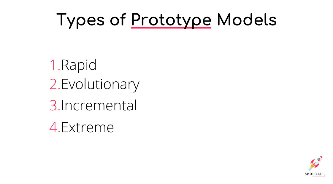 Types of product prototypes to use when comparing prototype vs poc
