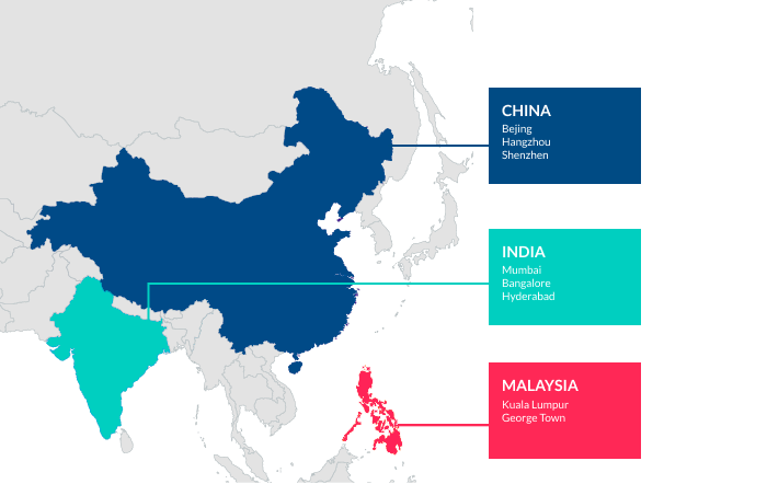 How to outsource web development in Asia? Find out rates and in-depth market overivew of Asian outsource teams