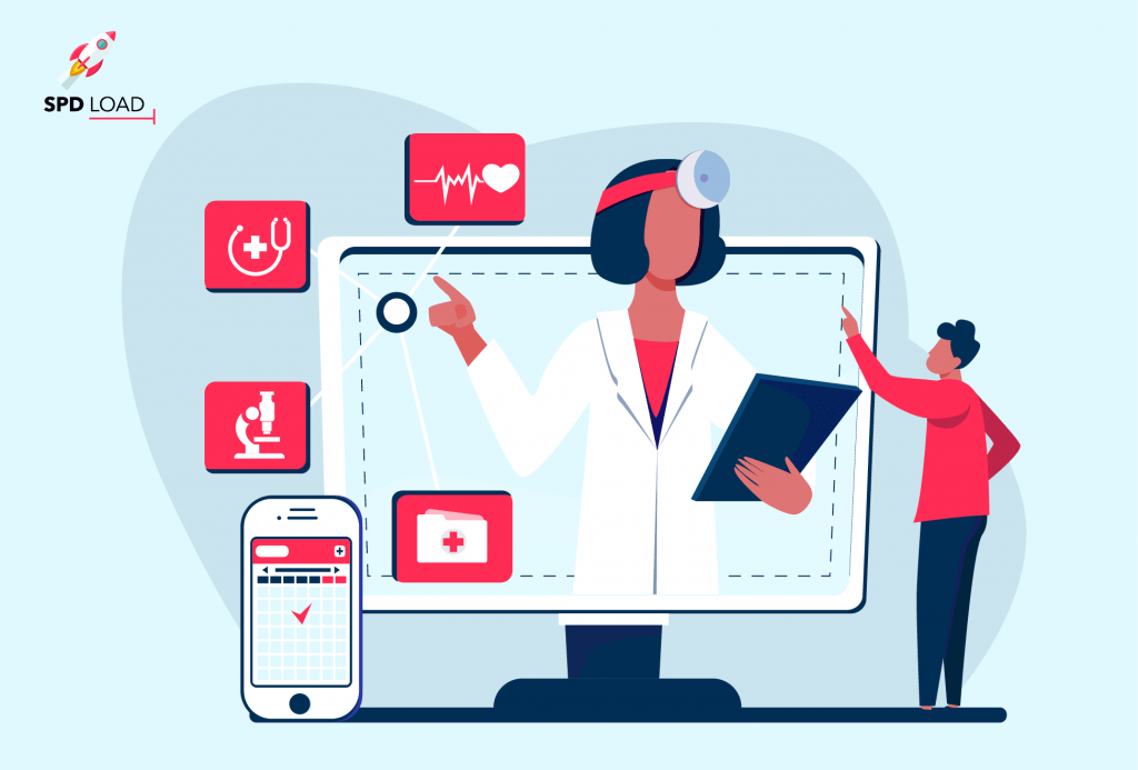 Telemedicine App Development Guide Benefits Key Features Challenges Spdload
