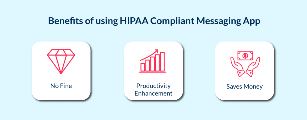 Benefits of using HIPAA Compliant Messaging Apps