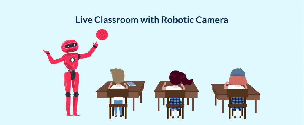 IoT is one of the strongest trends to generate ideas and products in EdTech indusctry. Robotic Cameras is one of that kind of idea.