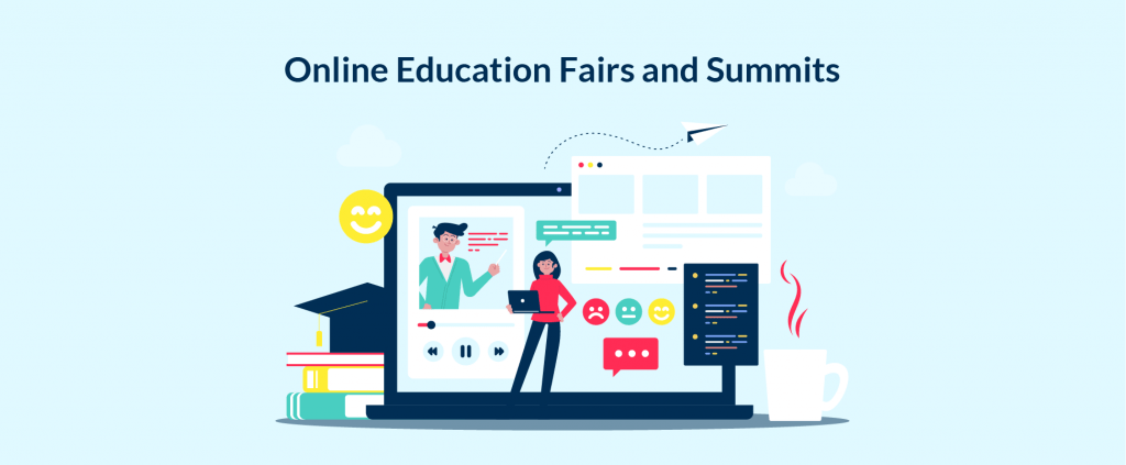 An idea for platform for online learning meetings and summits is a common for EdTech.