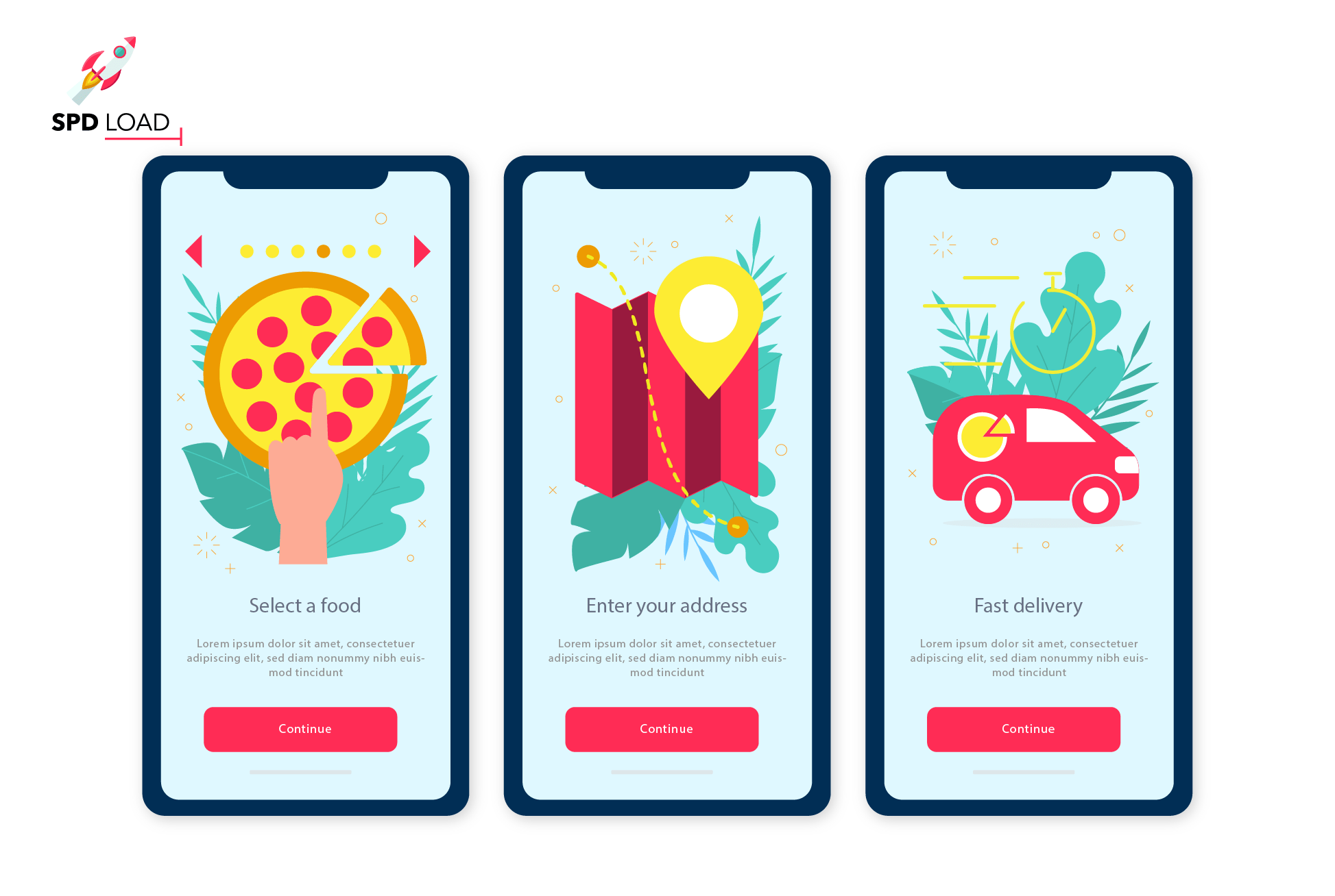 Check out detailed step-by-step guide on how to create a food ordering app by SpdLoad