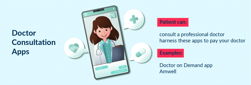 Doctor consultation app is a good idea to consider to launch a new startup as an app for healthcare