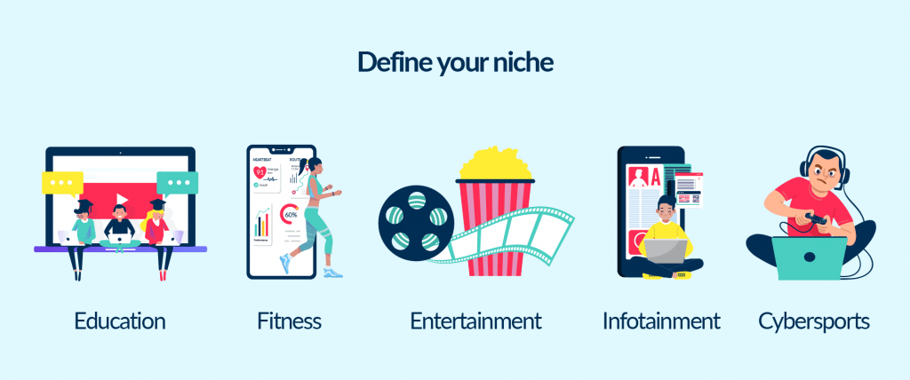 There is a list of niches, where this is possible to launch own video streaming service