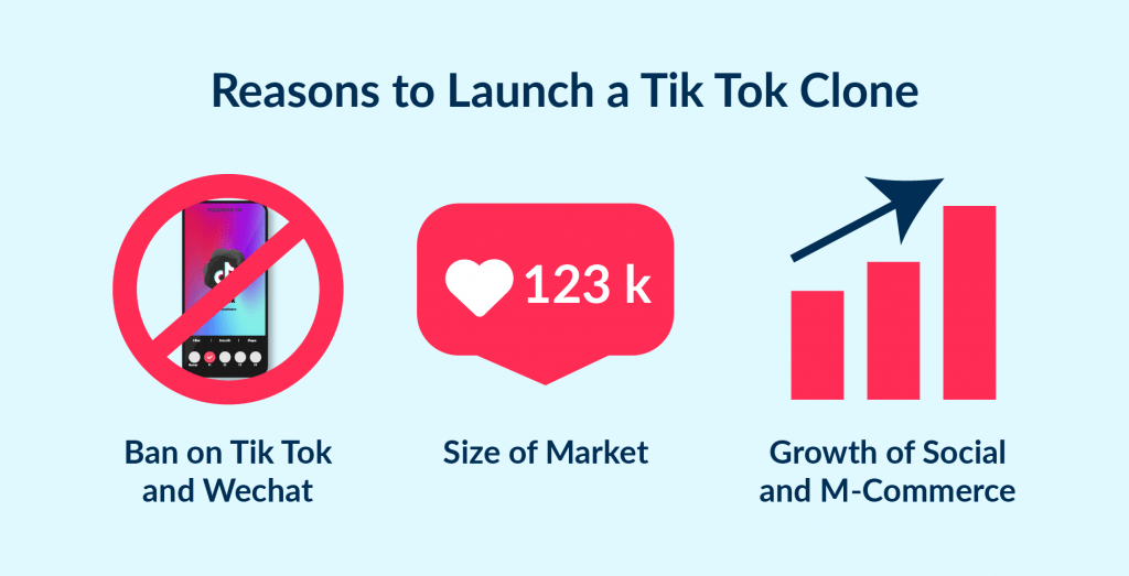 If founder looks for how to make app like tik tok, he should take a look at these 3 reasons why redefining TikTok would be a great opportunity to build own startup.