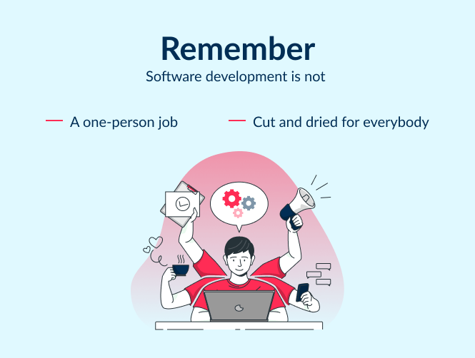 Entepreneursh should remember these 2 basics before ask on how to find a programmer for thier product or startup