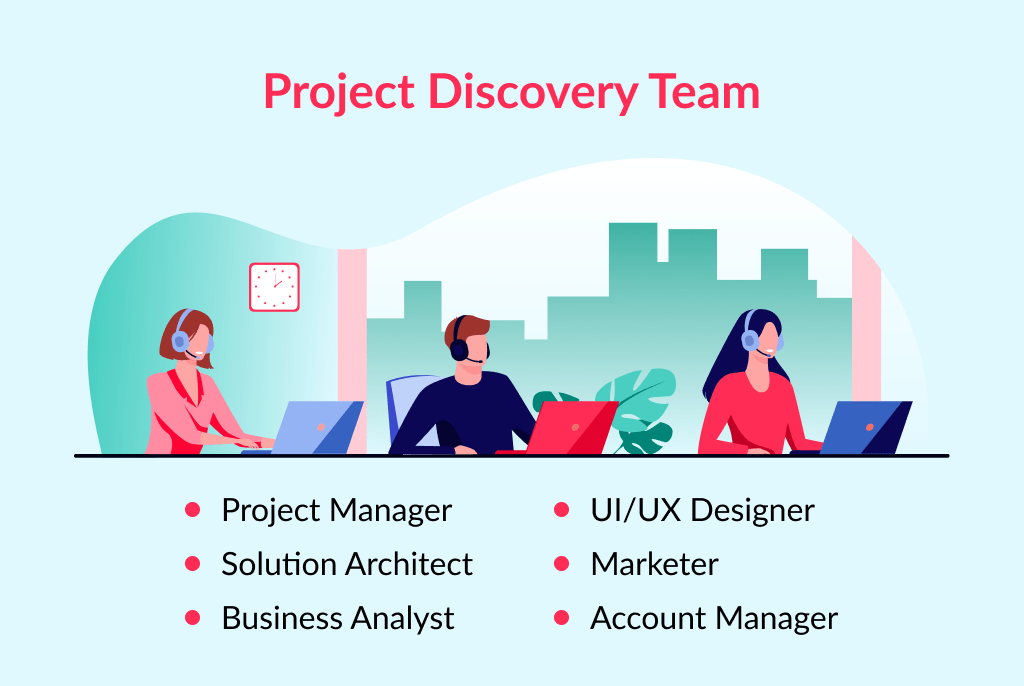 The team required to conduct a stage of discovery for a project rapidly and quality