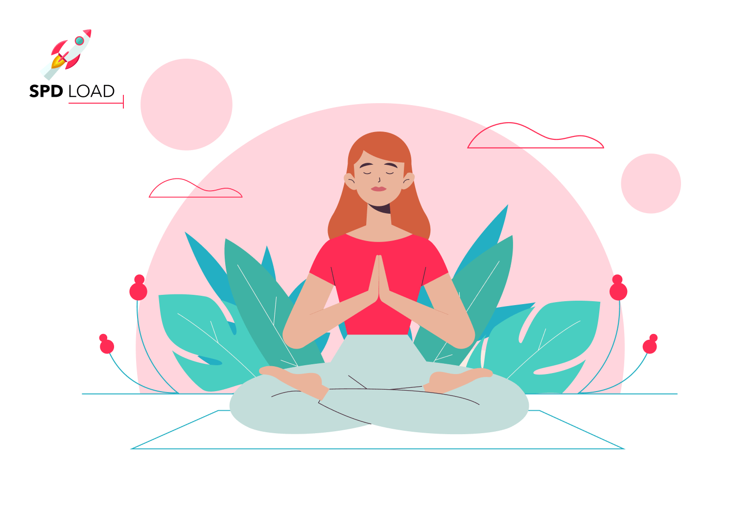 SpdLoad team prepared an in-depth guide on meditation app development for first-time founders