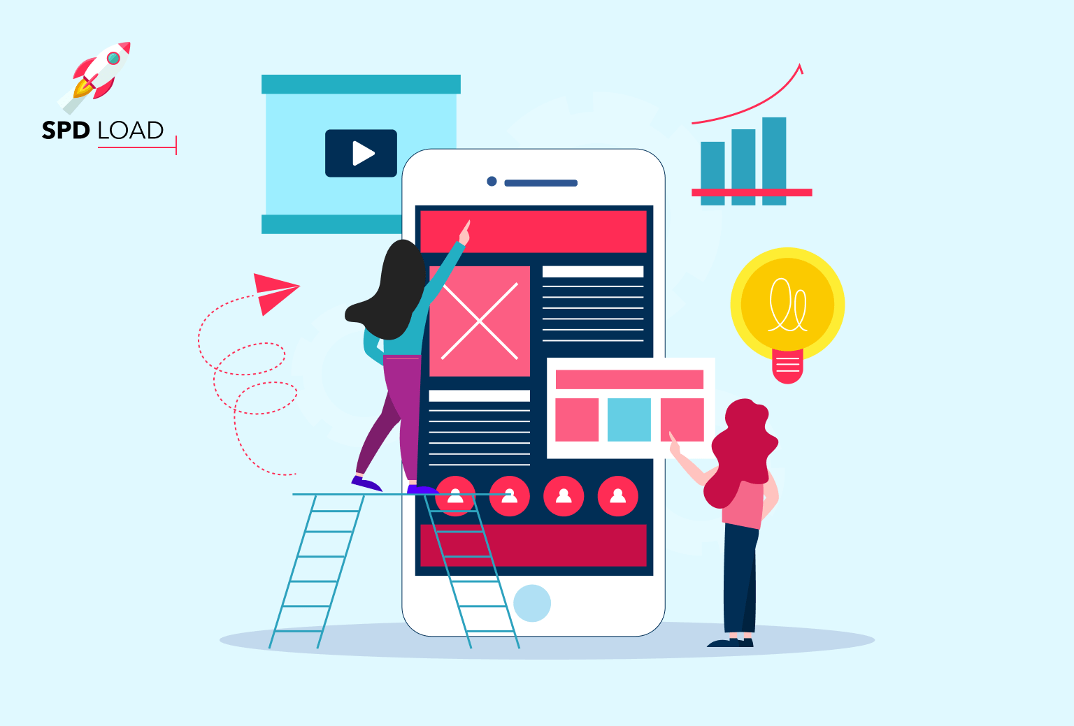 SpdLoad prepared an in-depth guide on app design cost. it covers the factors, executors and details of what defines the cost of design an app.