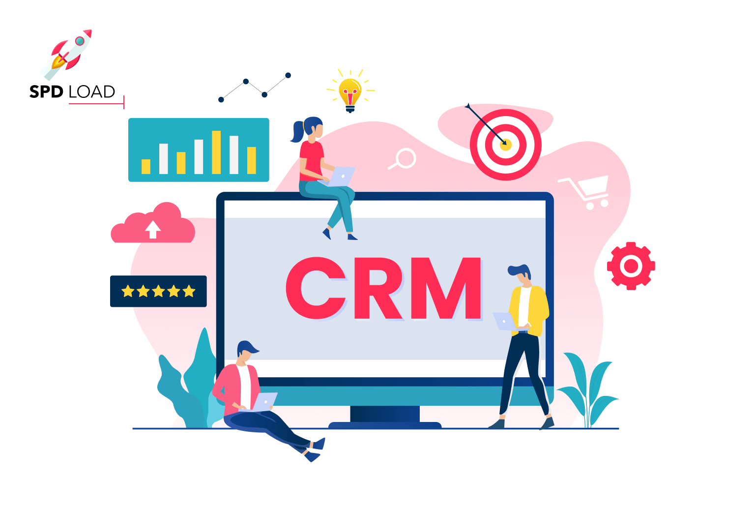 SpdLoad prepared an in-depth guide on how to build a CRM for startup founders and business owners