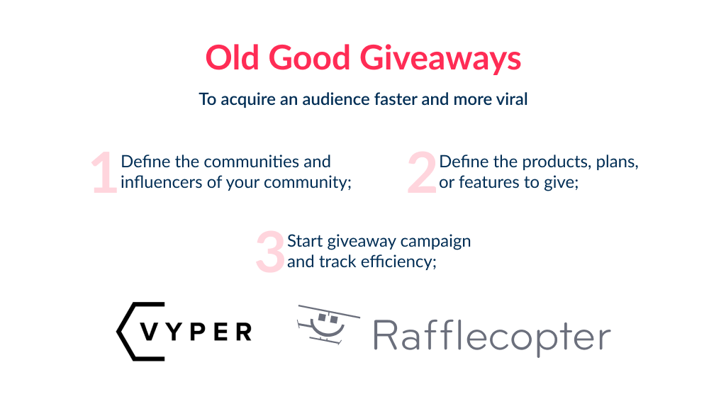 Giveaways is another common trick in digital marketing startup ideas