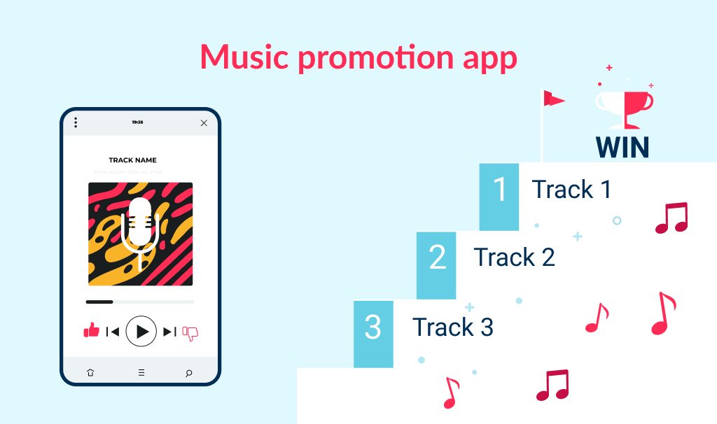 Application to promote local musicians is among our list of app ideas for music