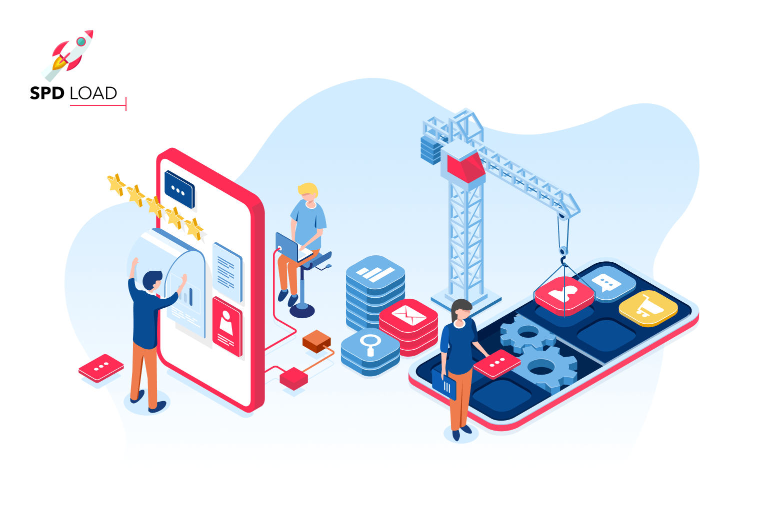 SpdLoad team prepared an in-depth guide about the mobile app design and development
