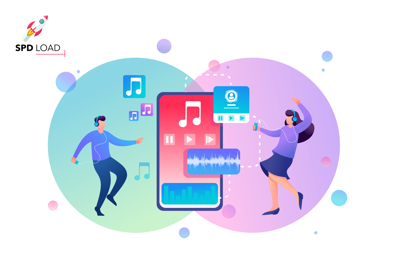 SpdLoad presented an in-depth guide on how to create a music streaming app