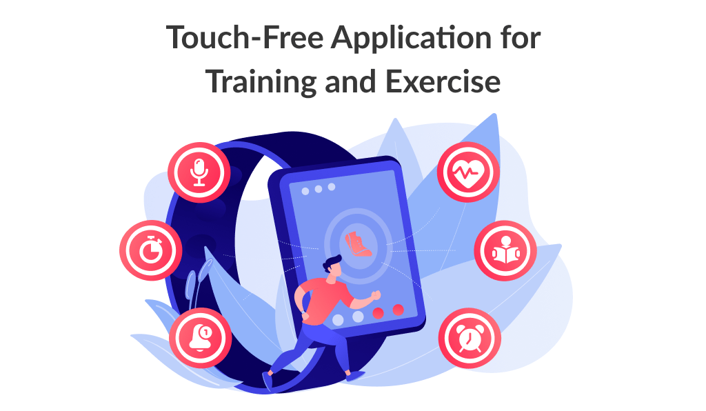 Touch Free fitness Application is one of a good among sports app ideas