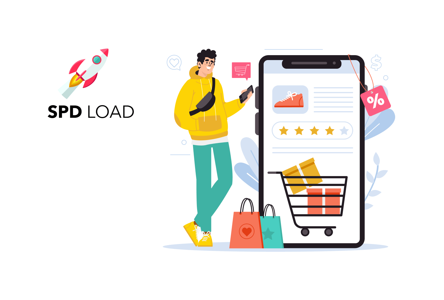 SpdLoad prepared an in-depth guide on how to develop an ecommerce app