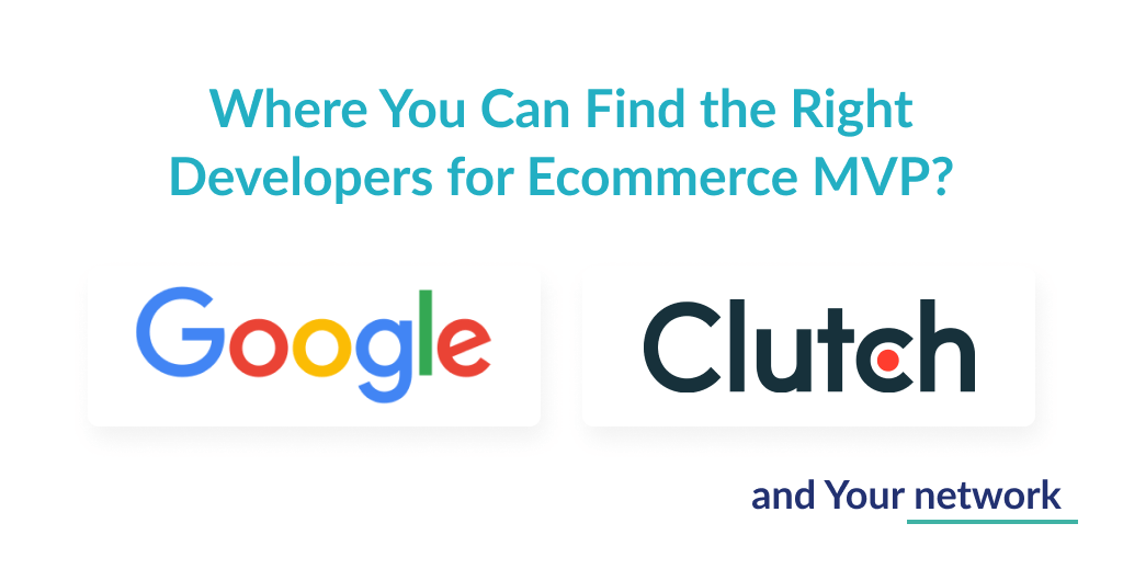 Where you can look for developers for ecommerce application development?
