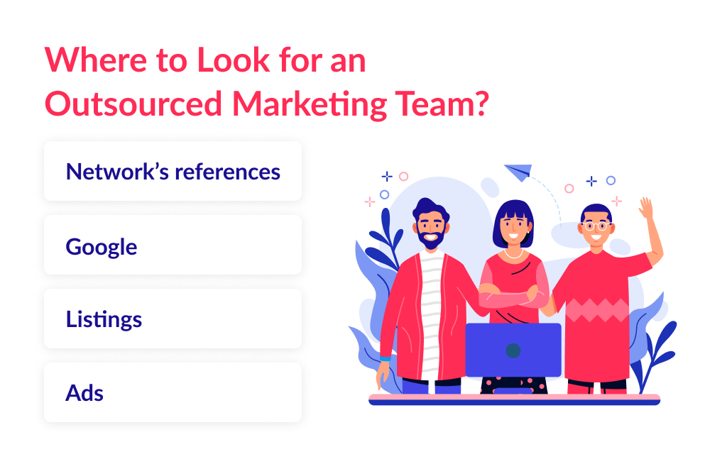 The properly-designed team structure is crucial to outsource digital marketing in the right way