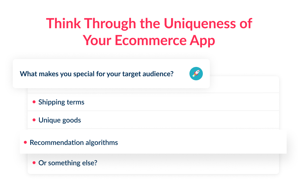 ecommerce app development cost depends on the complexity of killer feature