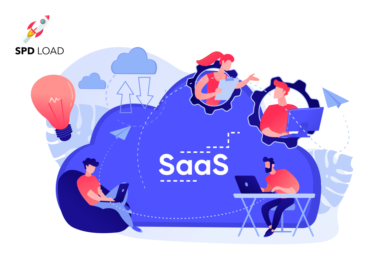 SpdLoad prepared an in-depth guide about saas development outsourcing