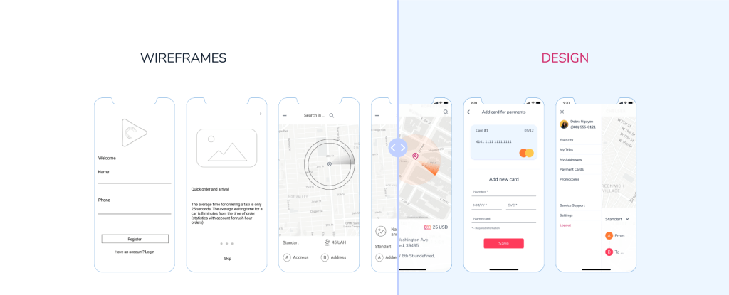 How to redesign mobile app? There is a complex answer, that includes both UX and UI aspects on the example of taxi app.