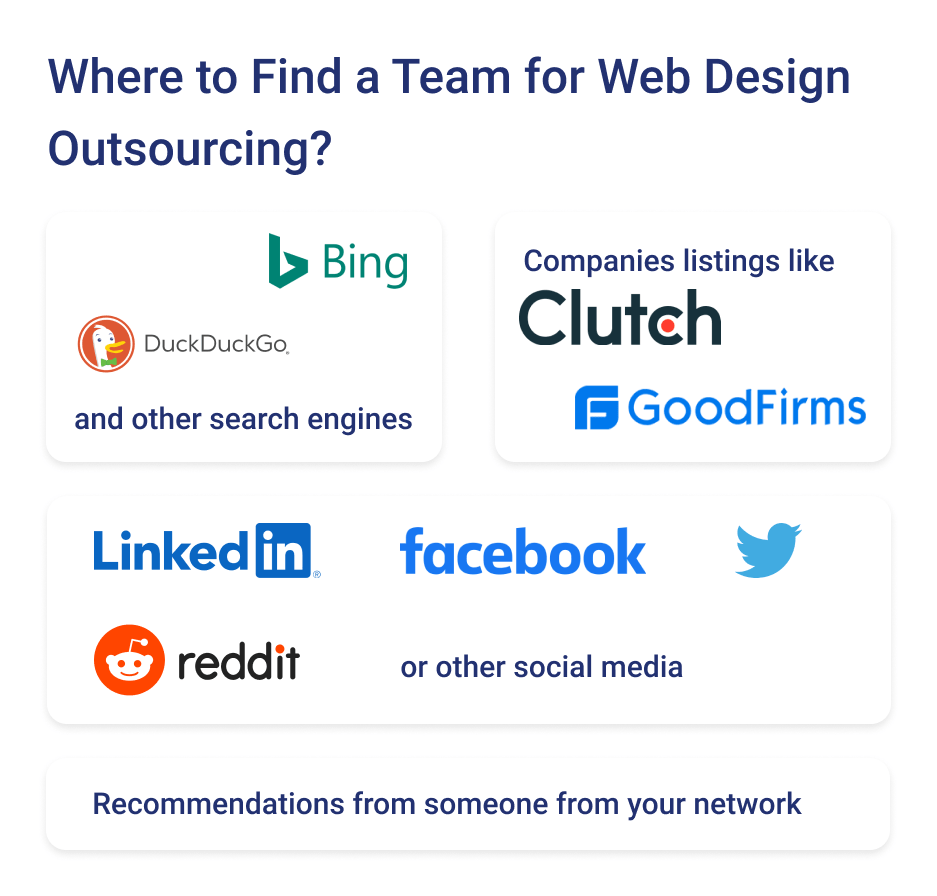 If you are thinking about outsource web design to save money and maximize ROI you need understand where to look for reliable teams.