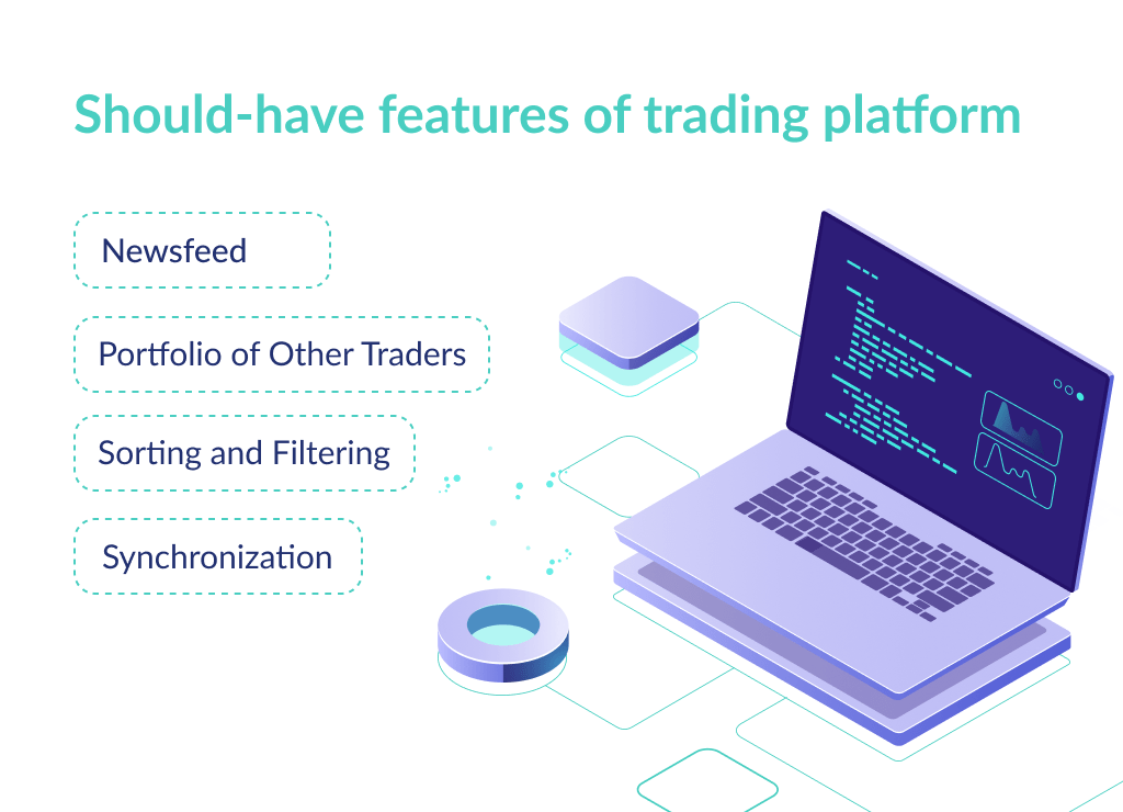 In case you aren't interested to find out how to build a stock trading platform for an MVP, you need to consider additional features to build a full-scaled product
