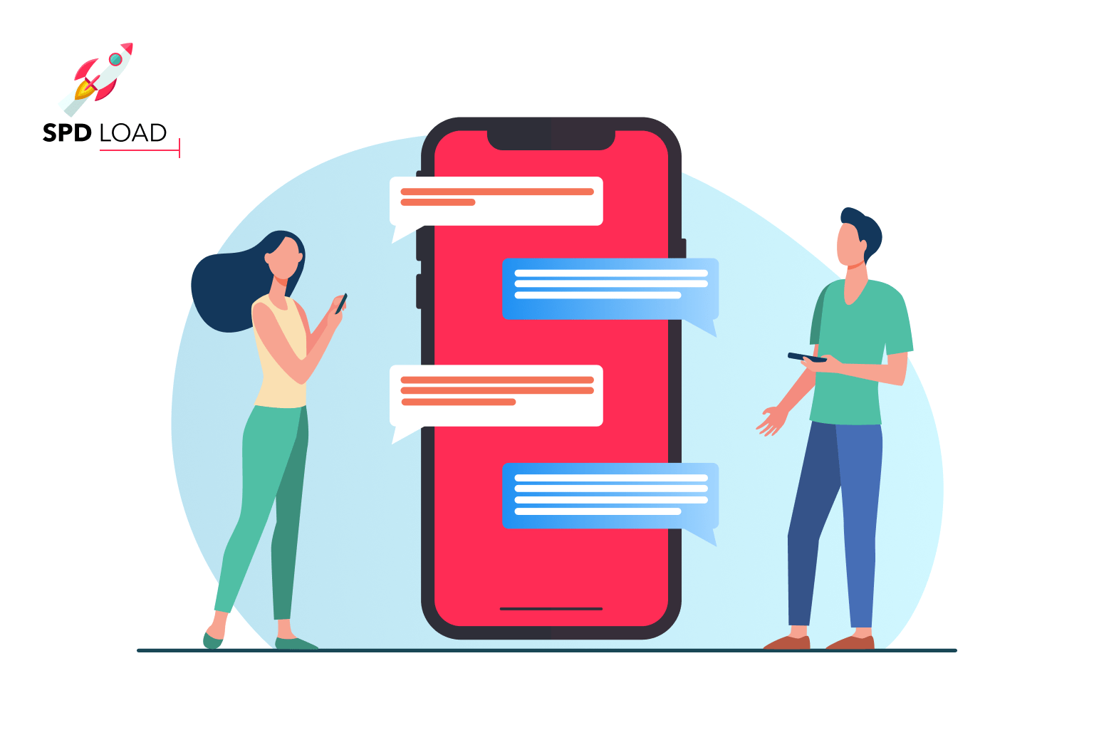 SpdLoad's team prepared in-depth guide on how much does it cost to make a messenger app