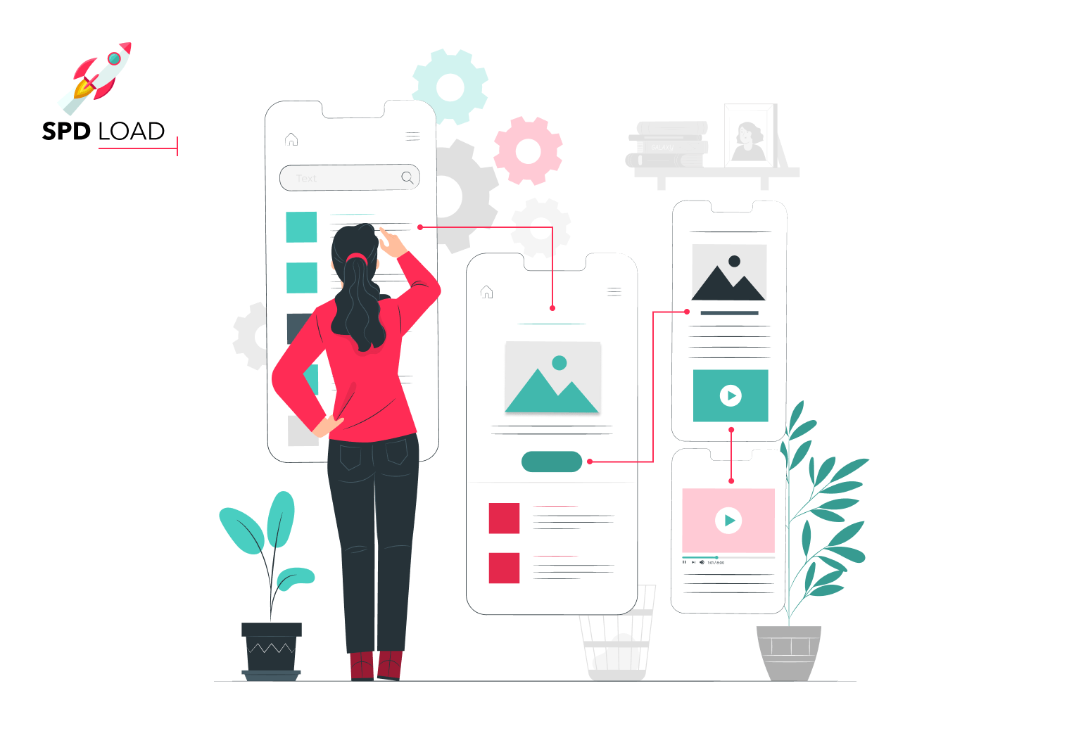 SpdLoad prepared in-depth guide about how to redesign an app or a website ux