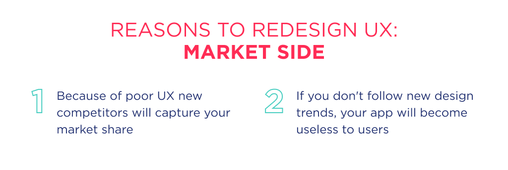 If you'd like to learn more about how to redesign a website ux the good start point is to start from research