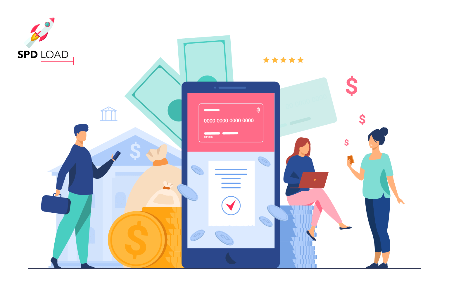 SpdLoad team prepared an in-depth guide on the process and cost of mobile banking application development