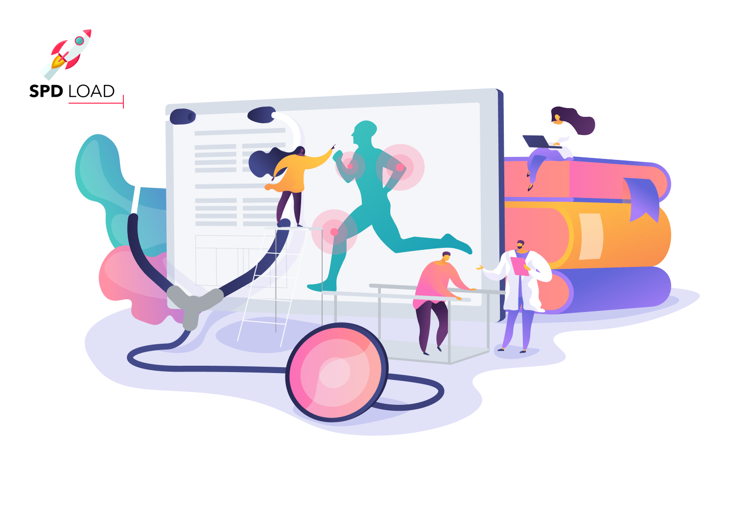 The SpdLoad team prepared an in-depth guide about healthcare website design for founders of early stage startups