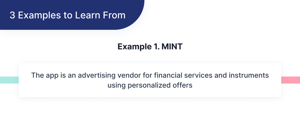 Here you can find an example of successful FinTech startup Mint and what you could learn from it to start your own FinTech app